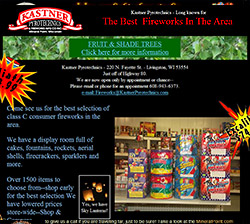 Kastner Pyrotechnics Website - click to view